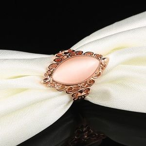 Gorgeous rose gold costume cocktail ring